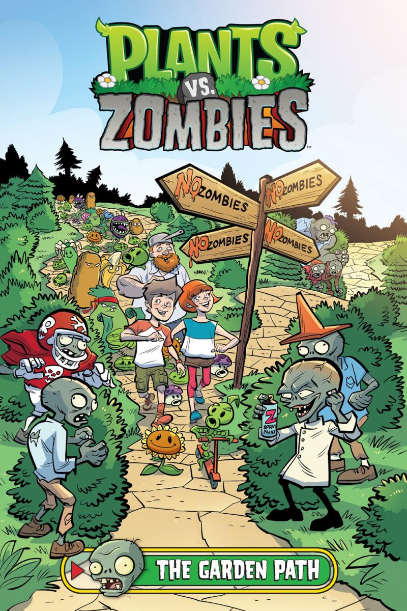 Plants vs. Zombies: The Garden Path