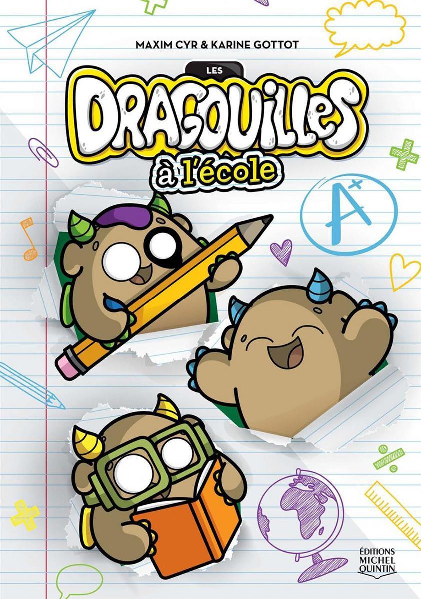 Les Dragouilles à l'école