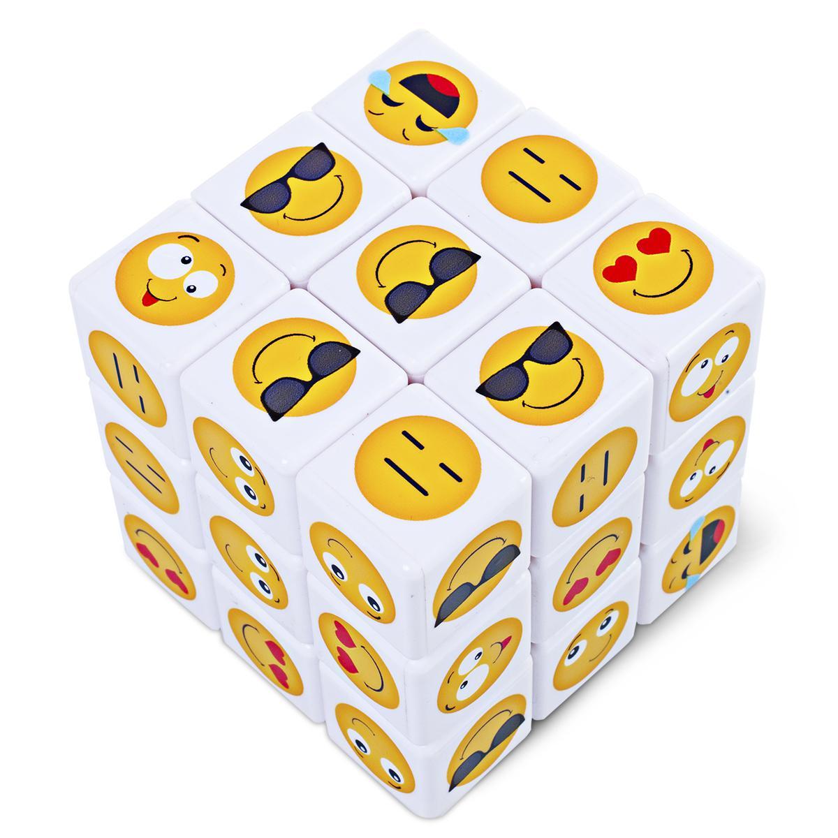 Mini Emoji Puzzle Cubes Pack