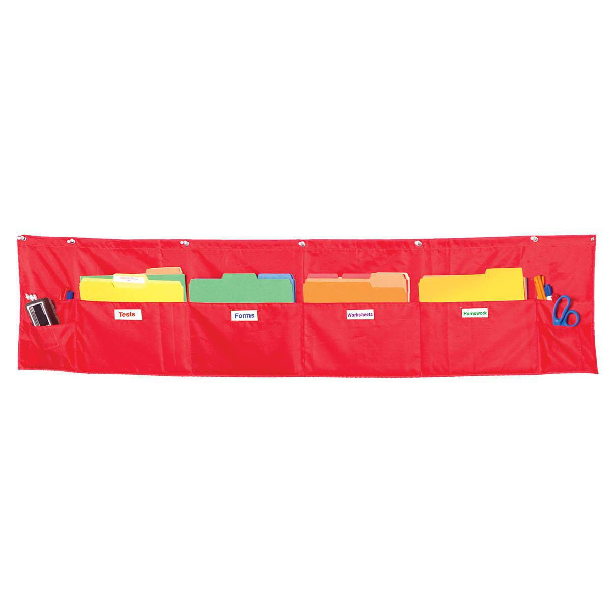 Tableau de rangement horizontal à  8 pochettes