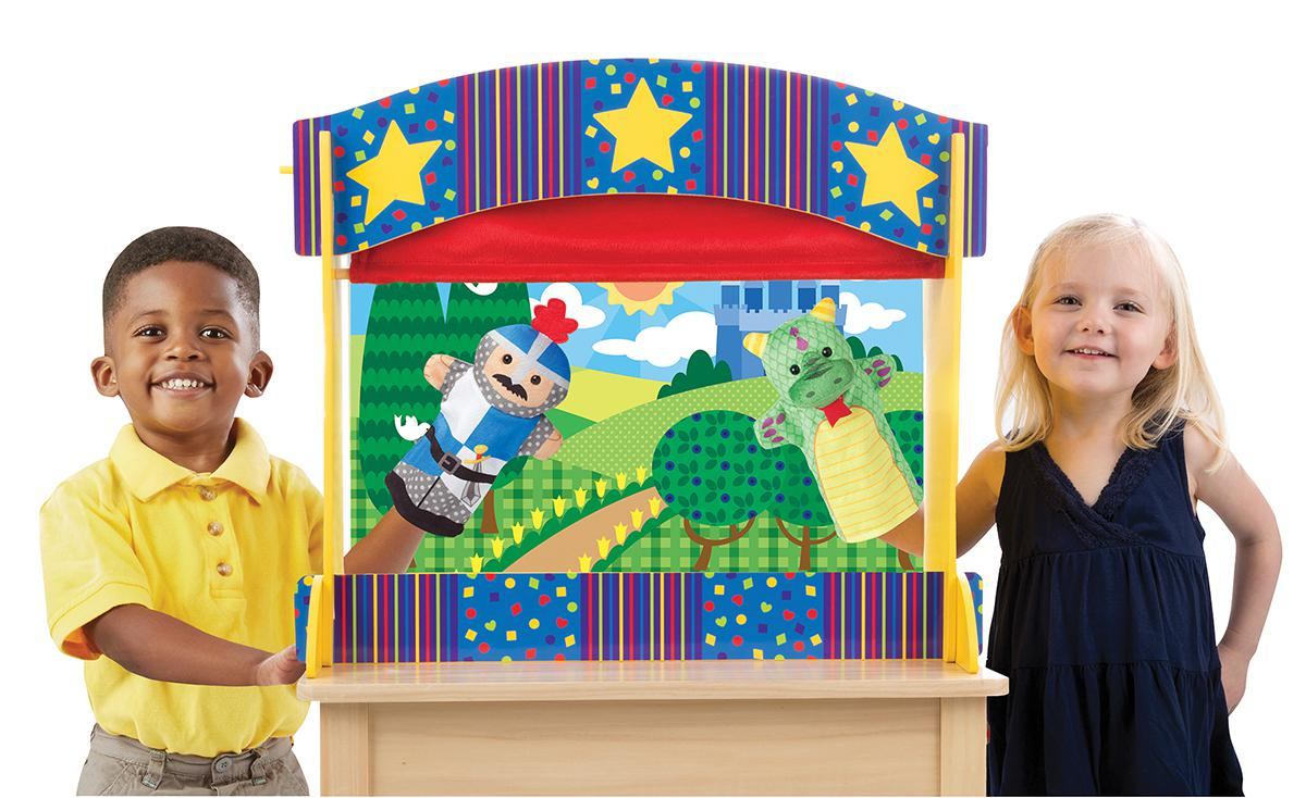 Tabletop Puppet Theatre