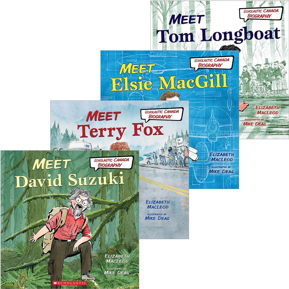 Scholastic Canada Biography Mega Pack