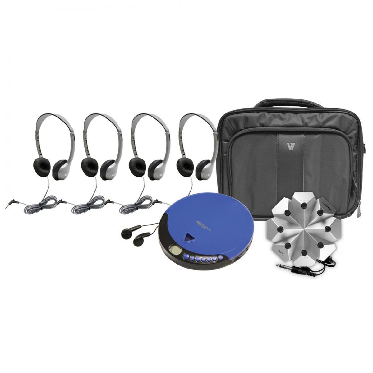 Hamilton 4-Person Ultra-Portable CD Listening Centre