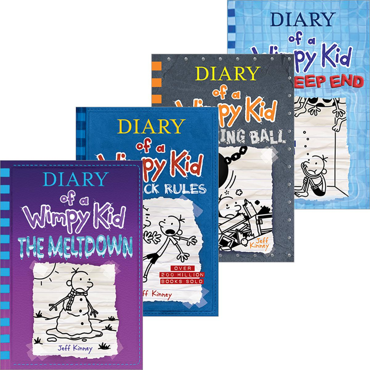 Diary of a Wimpy Kid #1-#15 Pack
