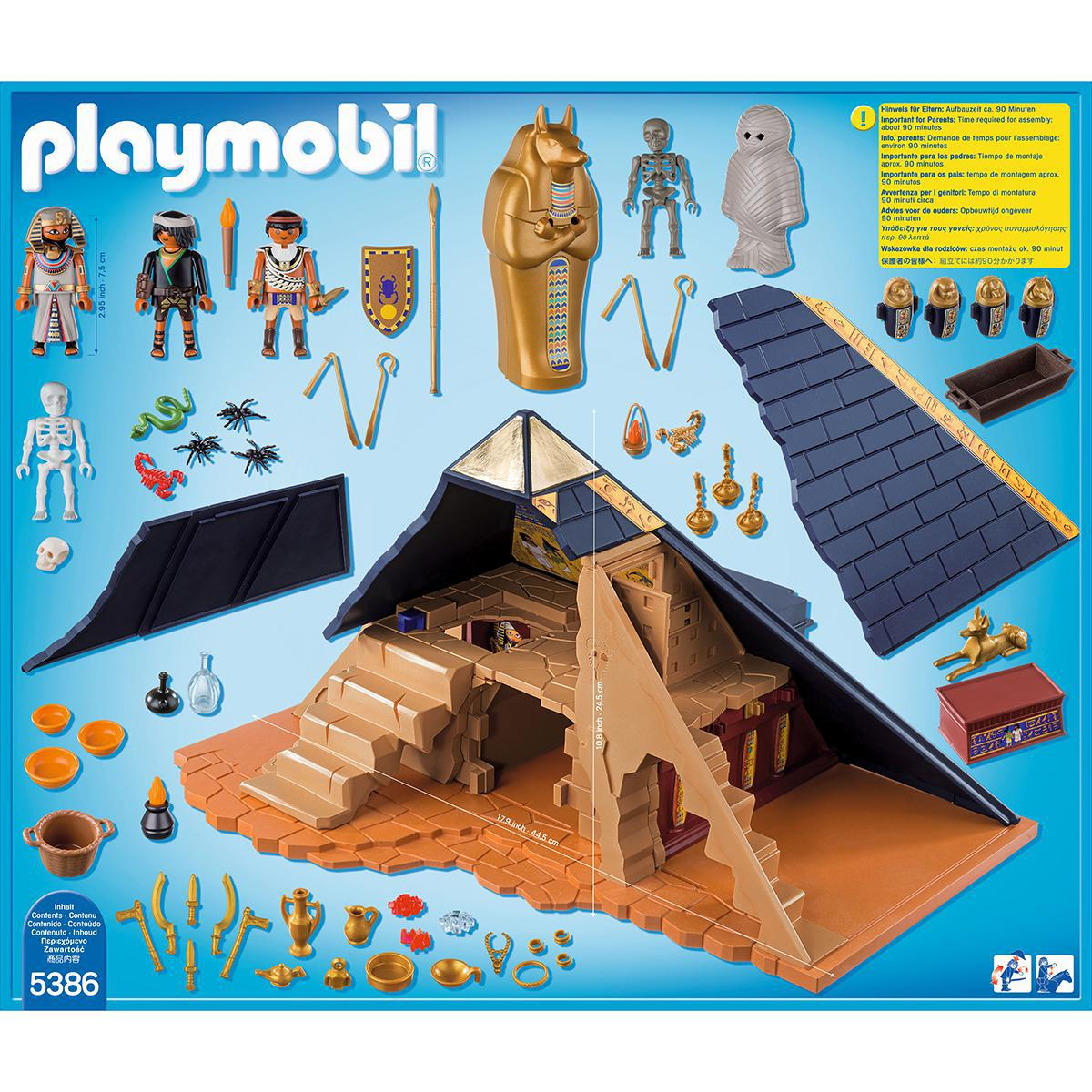 Ensemble Playmobil® - Pyramide de Pharaon