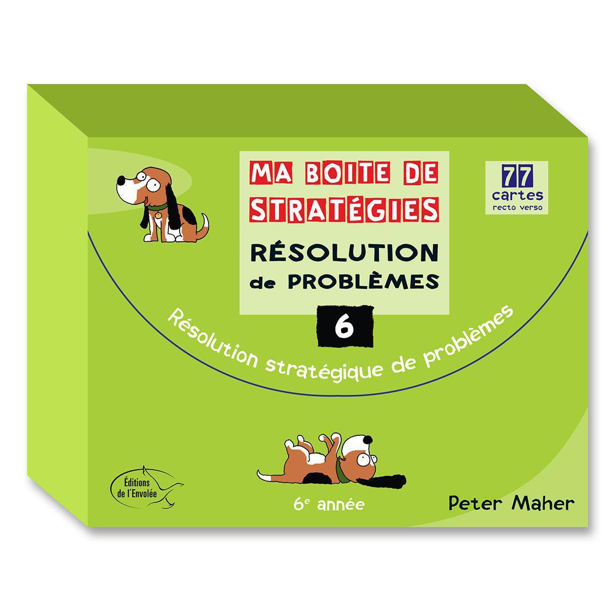 Ma boite de stratégies - Résolution de problèmes: 6e année