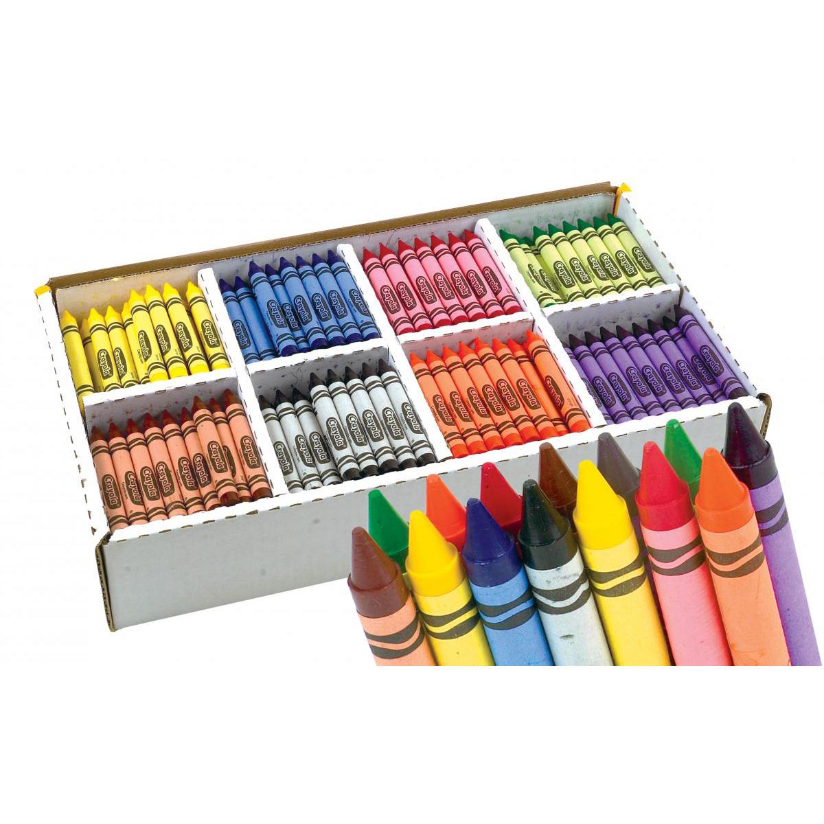 Ensemble de gros crayons de cire Crayola® (400)