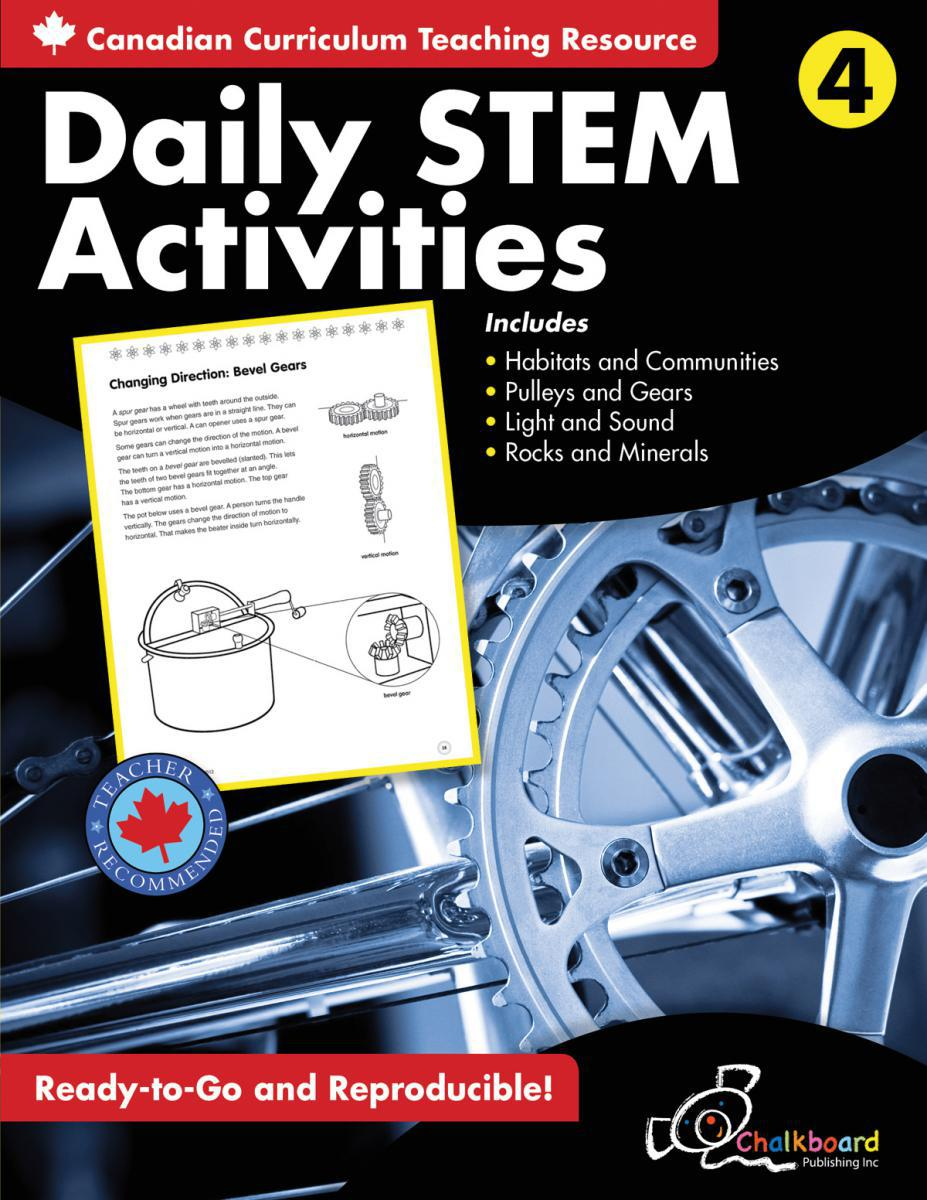 Canadian Daily STEM Activities Grade 4