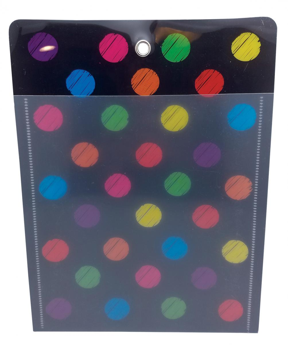 Chalk Dots Poly Pocket 10x13