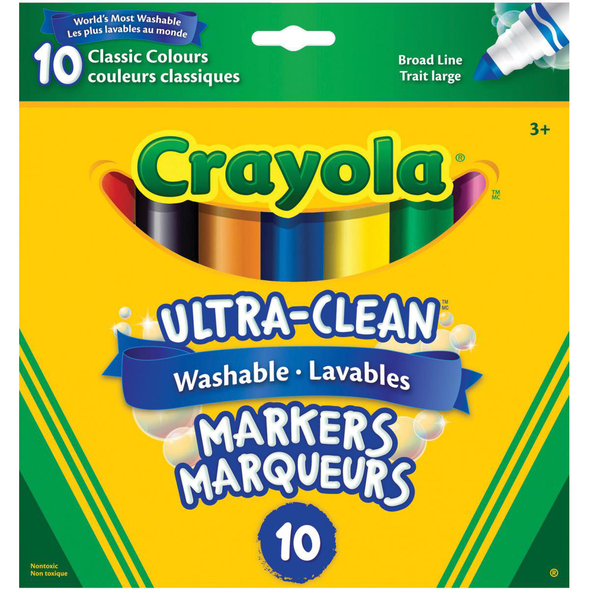 Crayola® Washable Original Markers Broad Tip Pack
