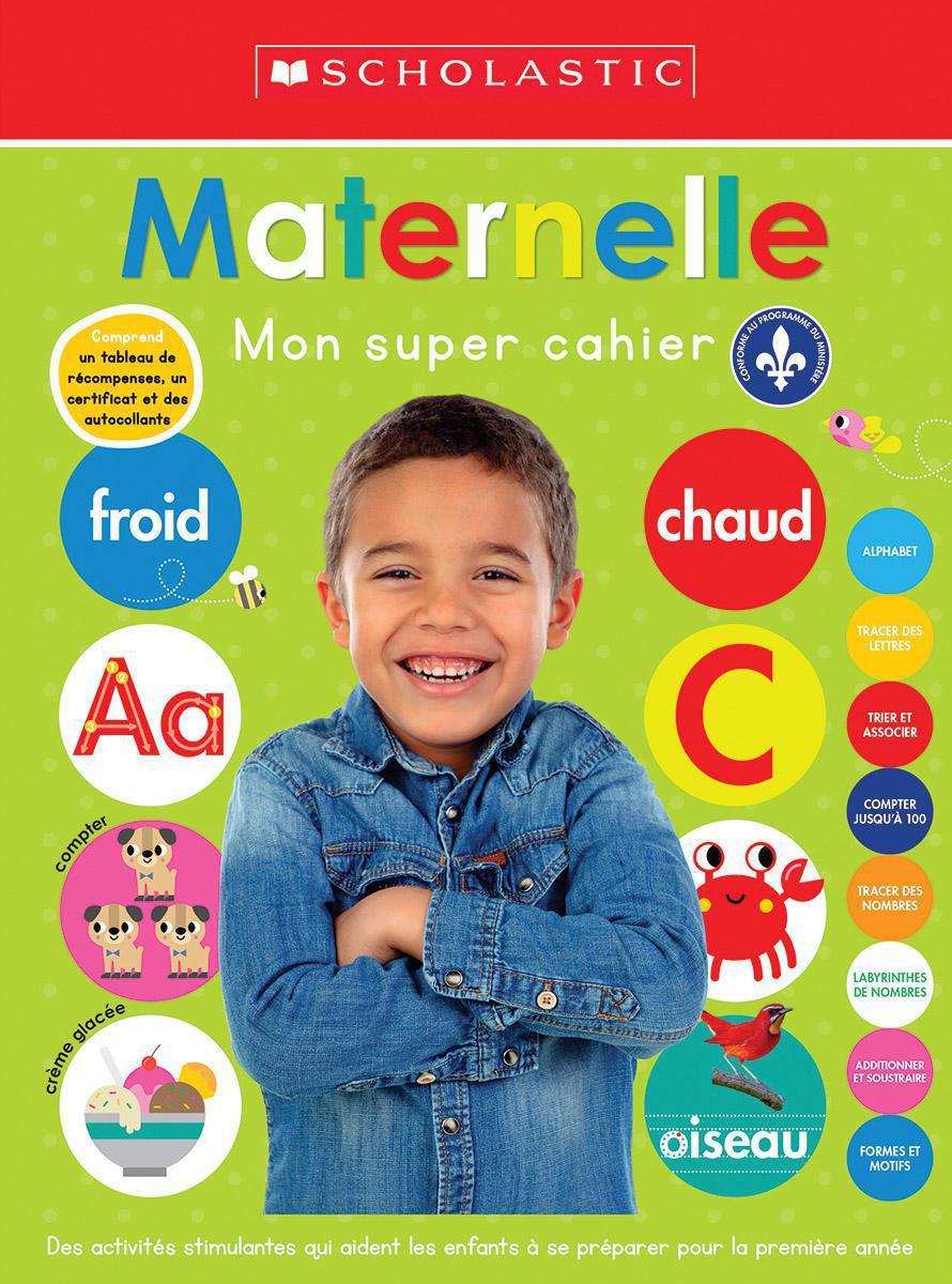 Maternelle : Mon super cahier