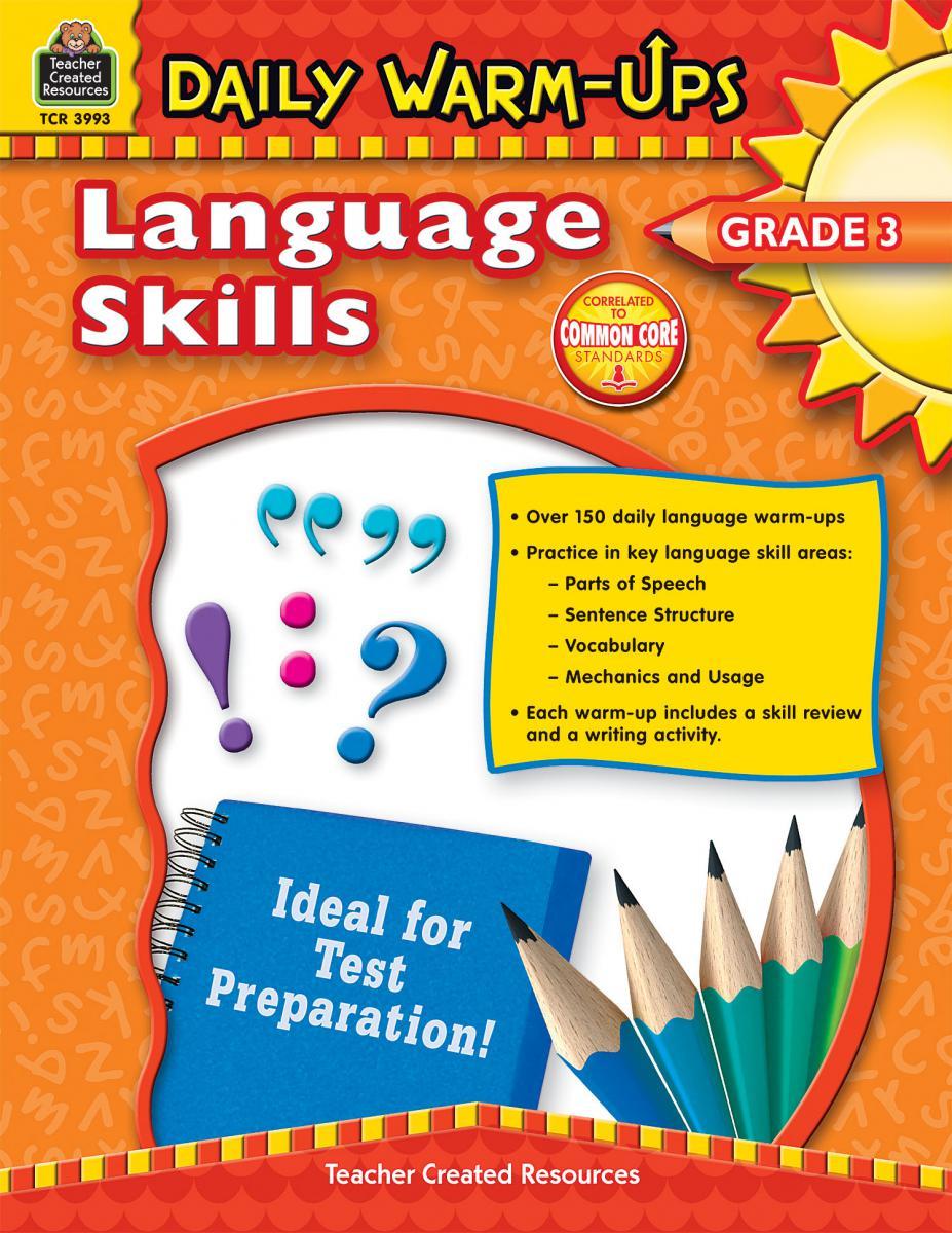 Daily Warm-Ups Language Skills Gr 3