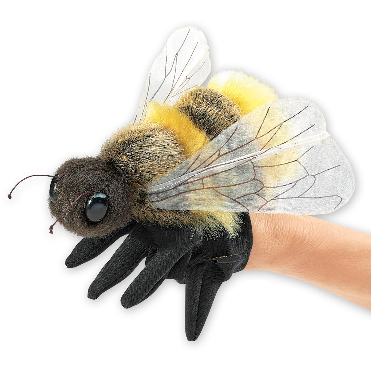 Honey Bee Puppet (18cm)