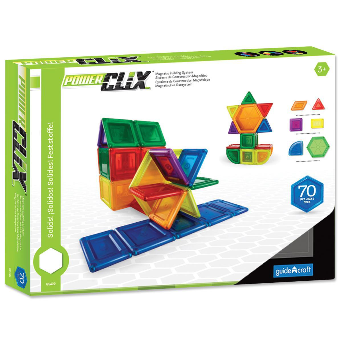 Power Clix® Solids 70-Piece Set