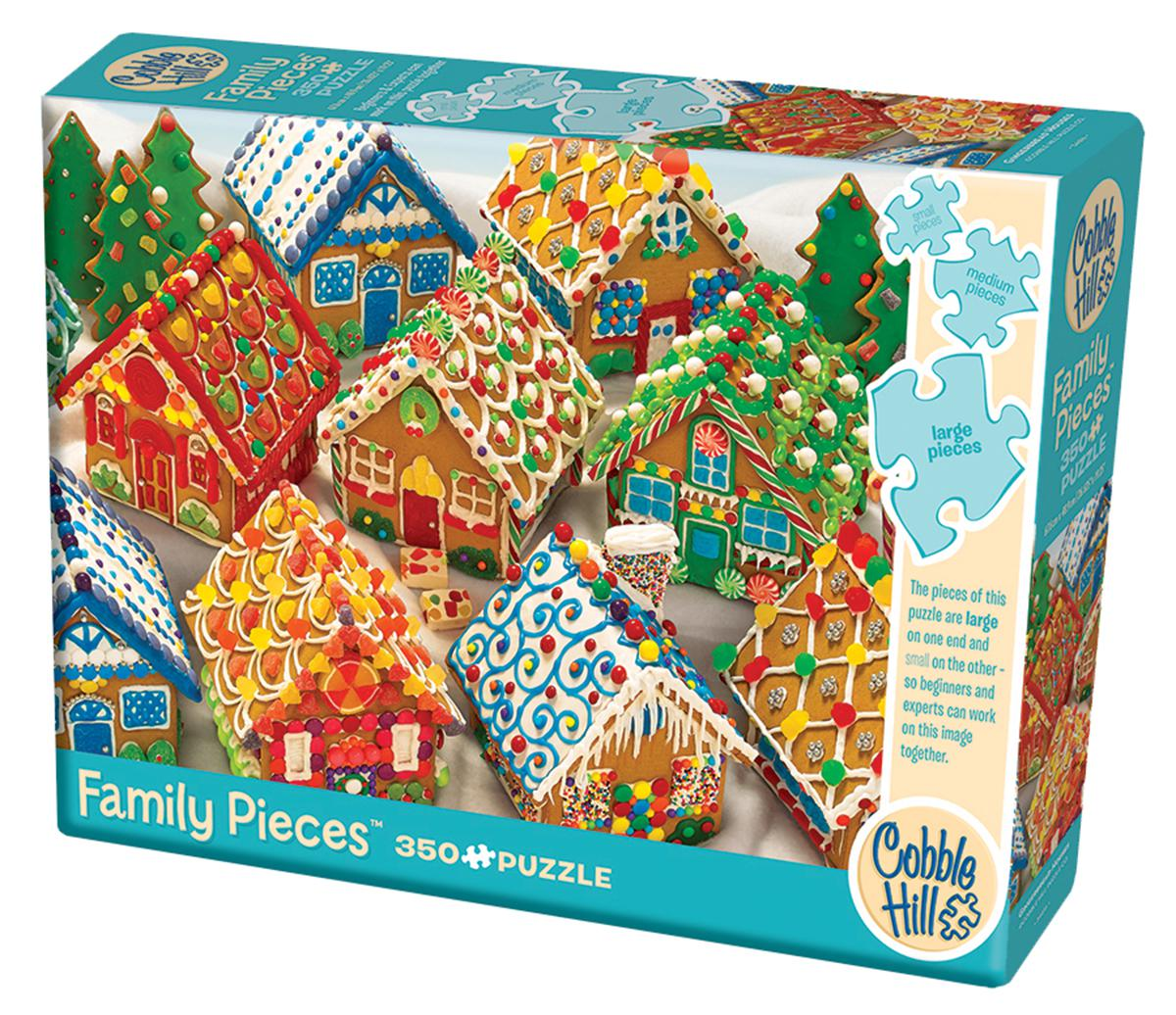 Gingerbread Houses 350 Piece Puzzle