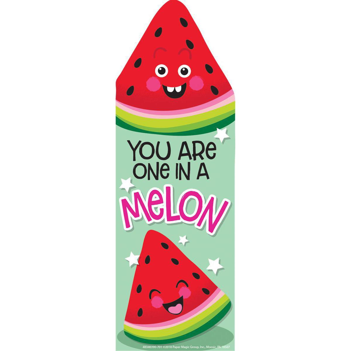 Watermelon Scented Bookmark