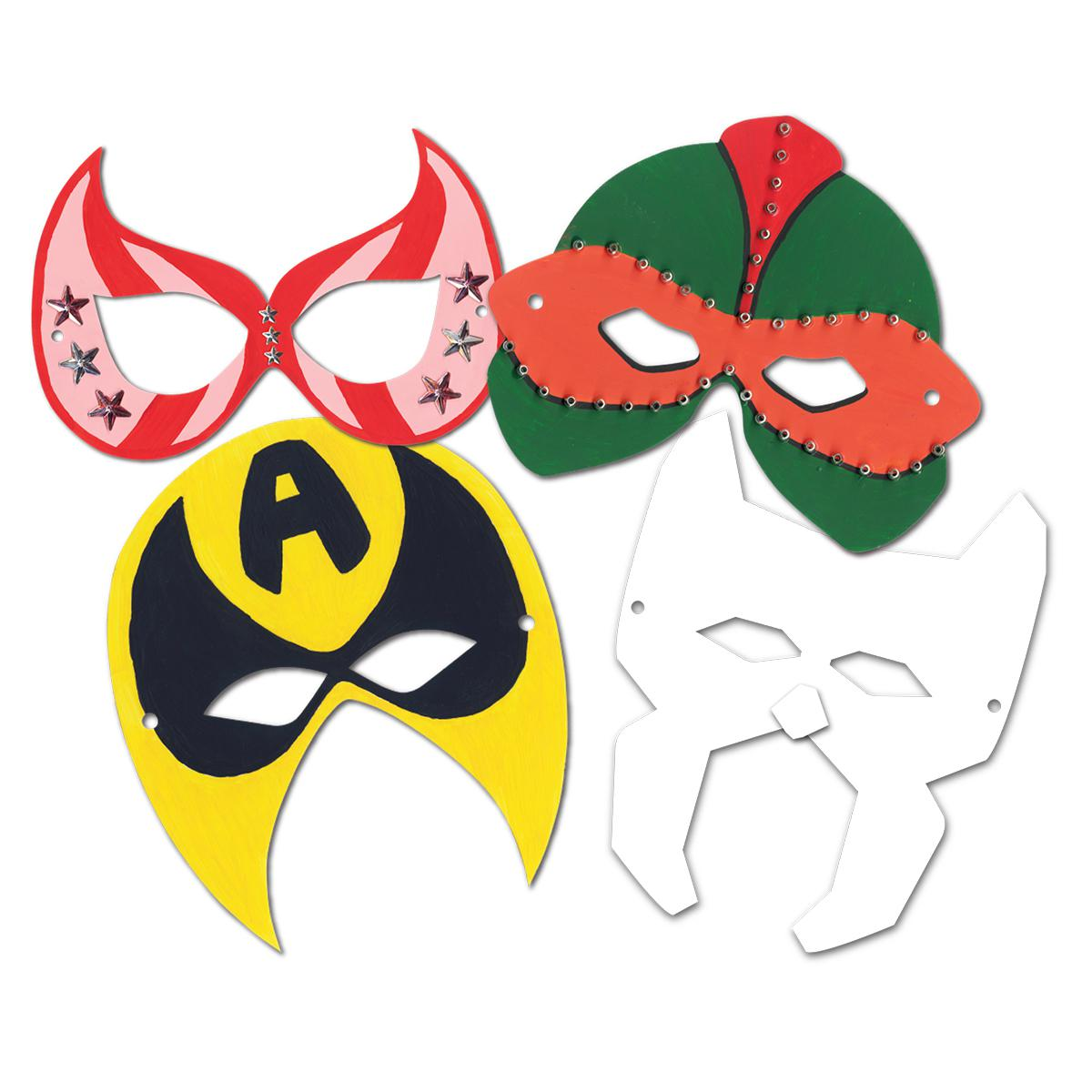 Super Hero Masks Class Kit
