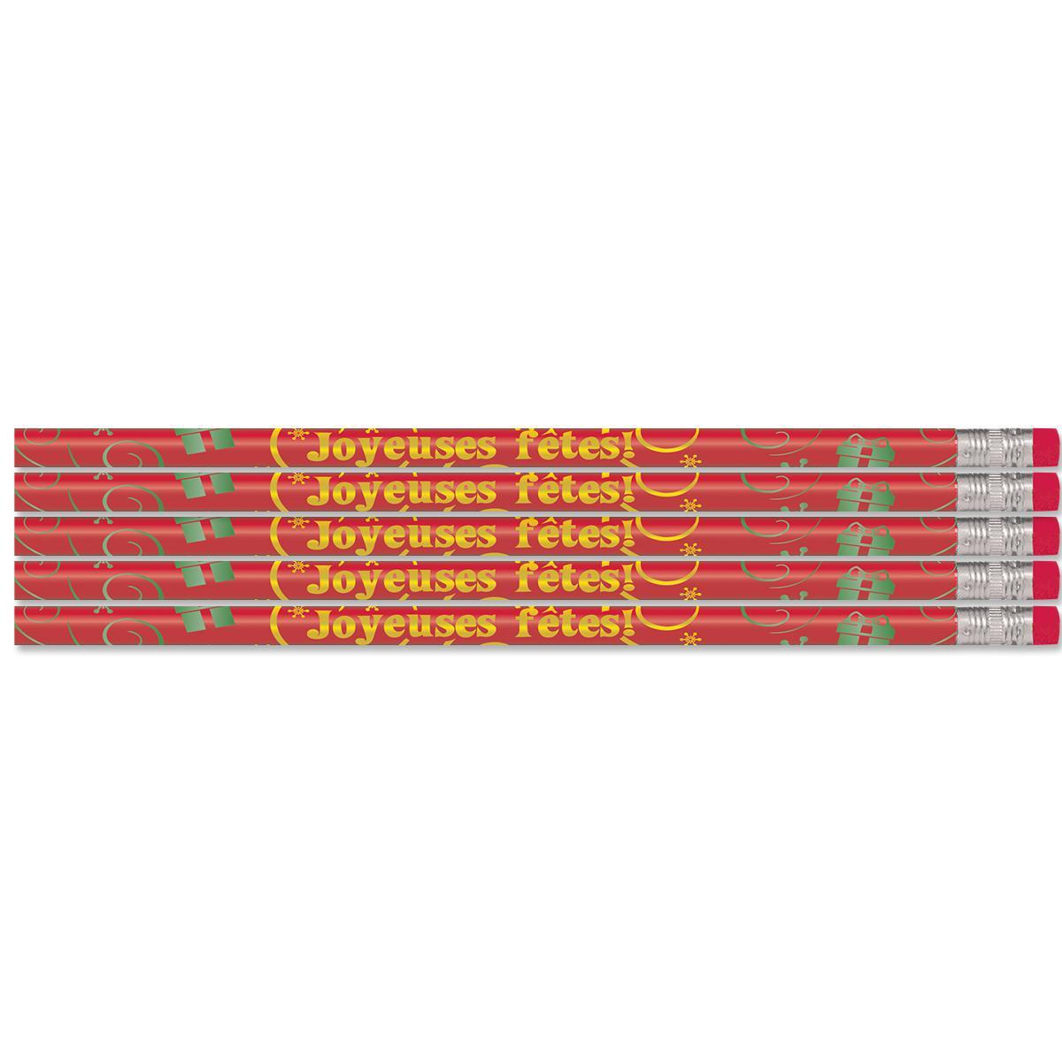 Crayons Joyeuses fêtes!
