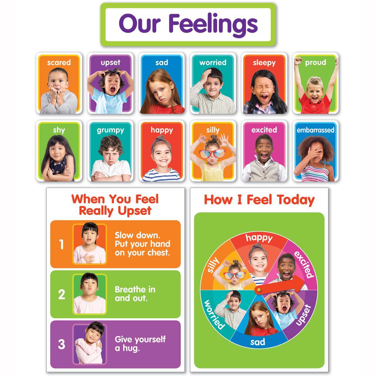 Our Feelings Bulletin Board Set