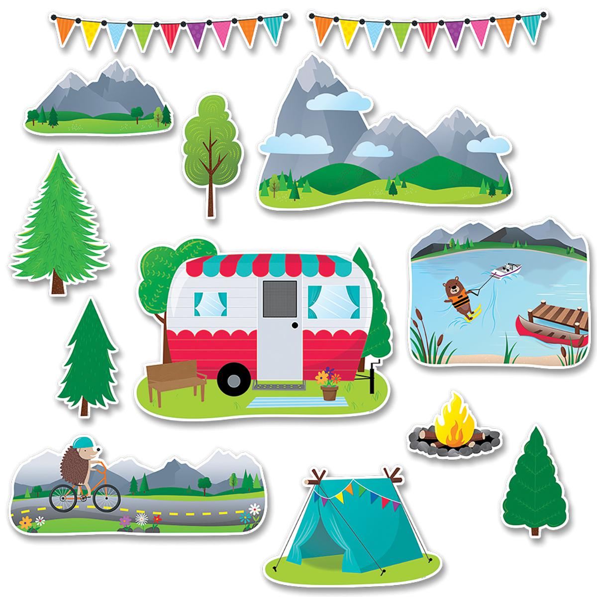 Woodland Friends Woodland Fun Bulletin Board Set