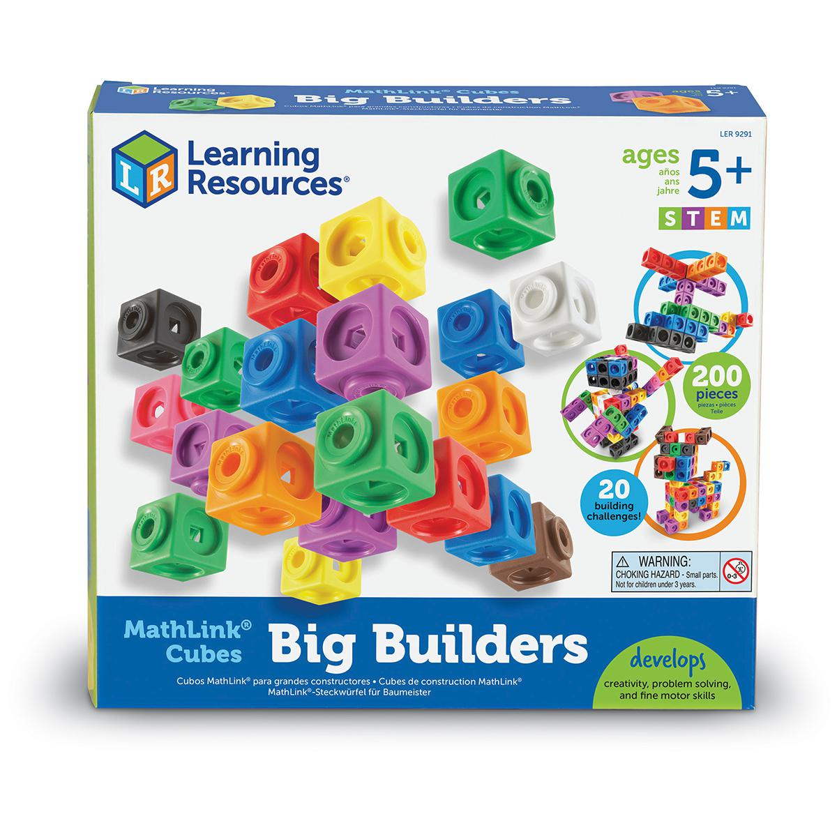 MathLink® Cubes: Big Builders