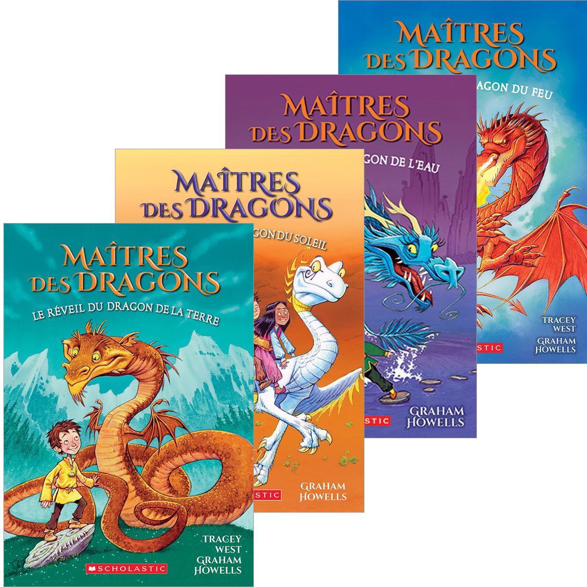 Ensemble Maîtres des dragons