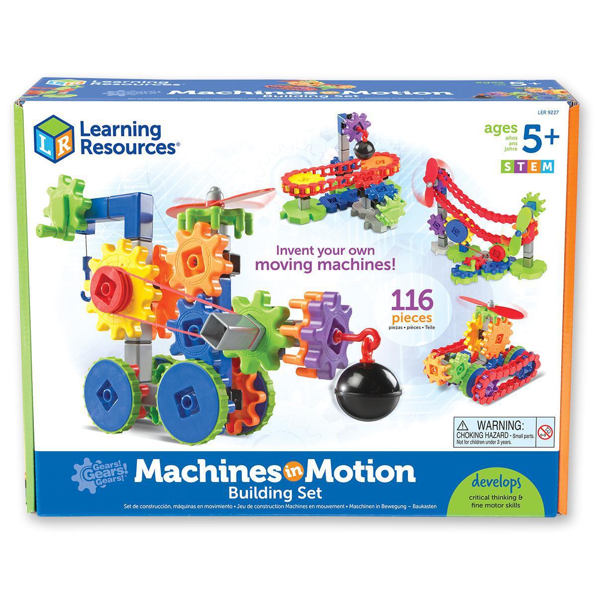 Ensemble Gears! Gears! Gears!® Machines en mouvement