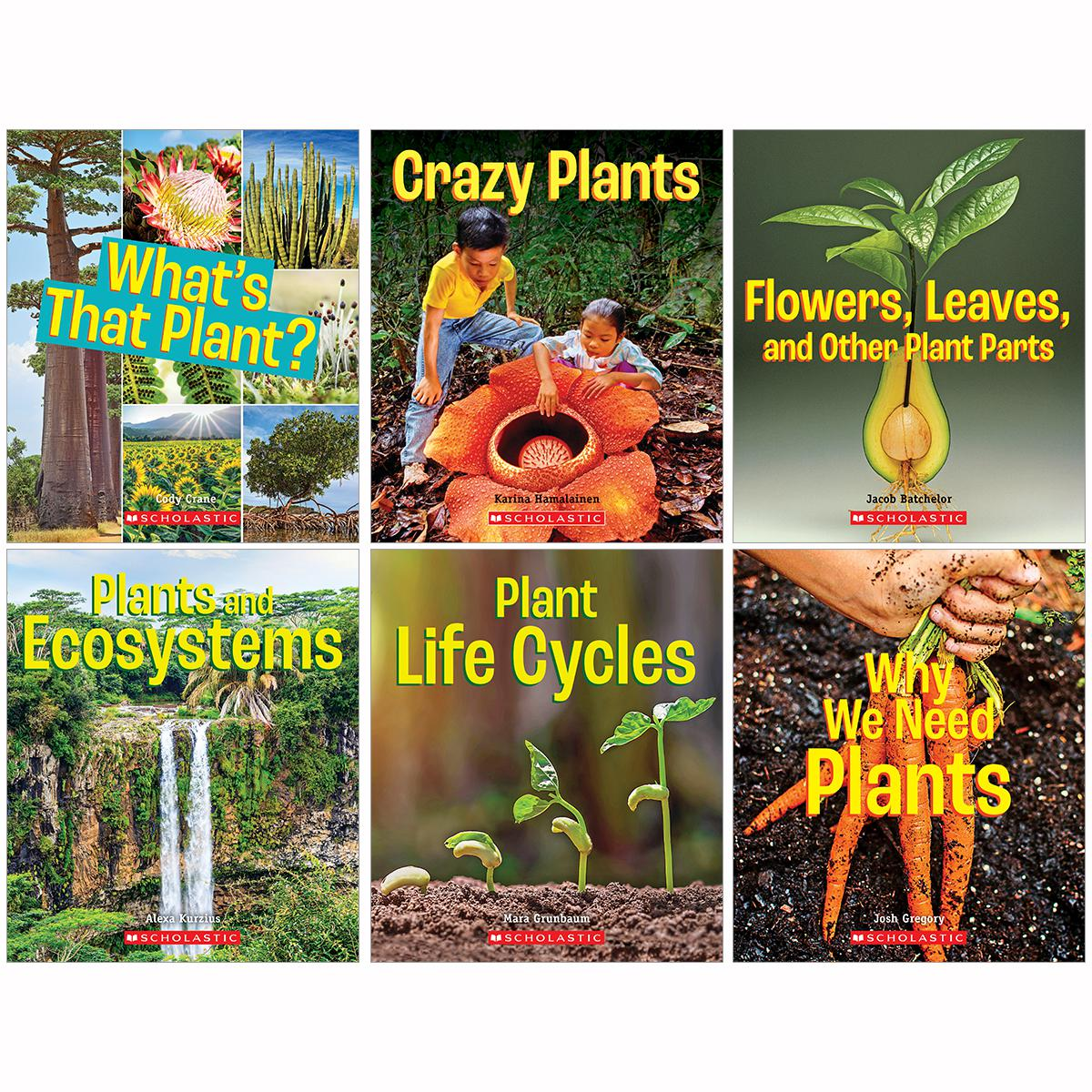 A True Book: Incredible Plants! 6-Pack