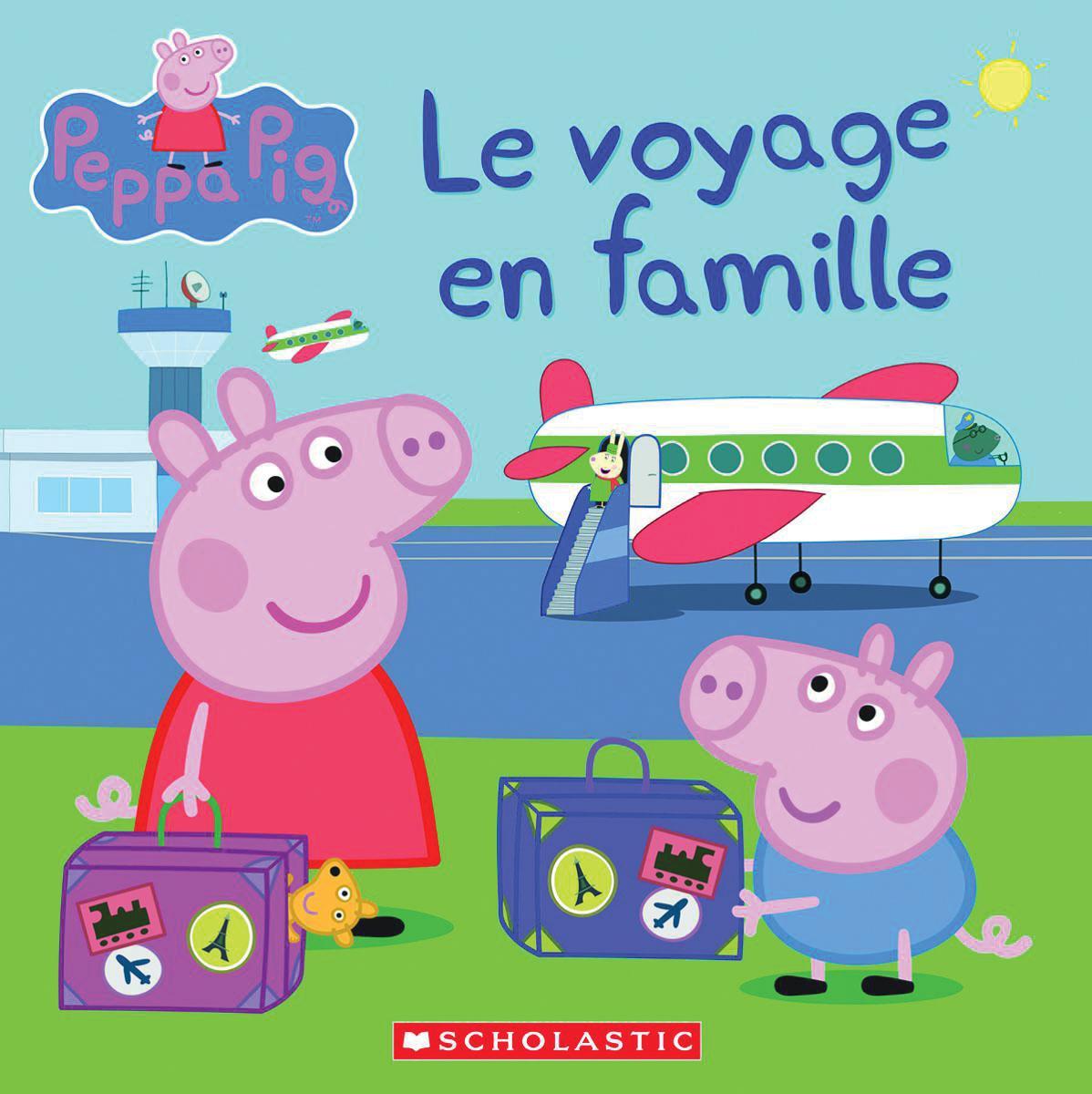 Peppa Pig : Le voyage en famille