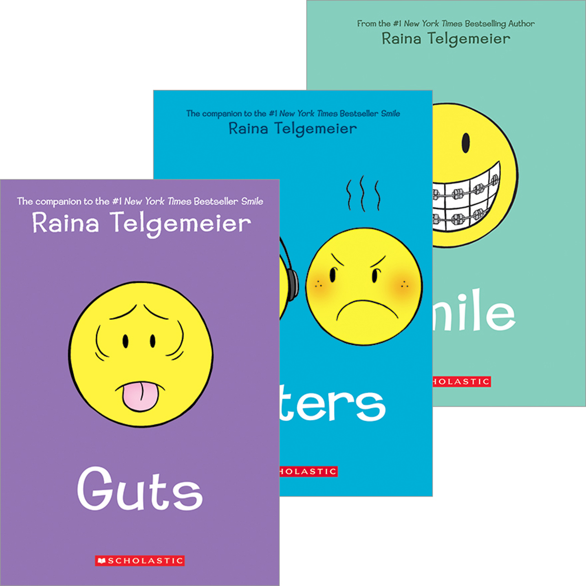 Raina Telgemeier Pack