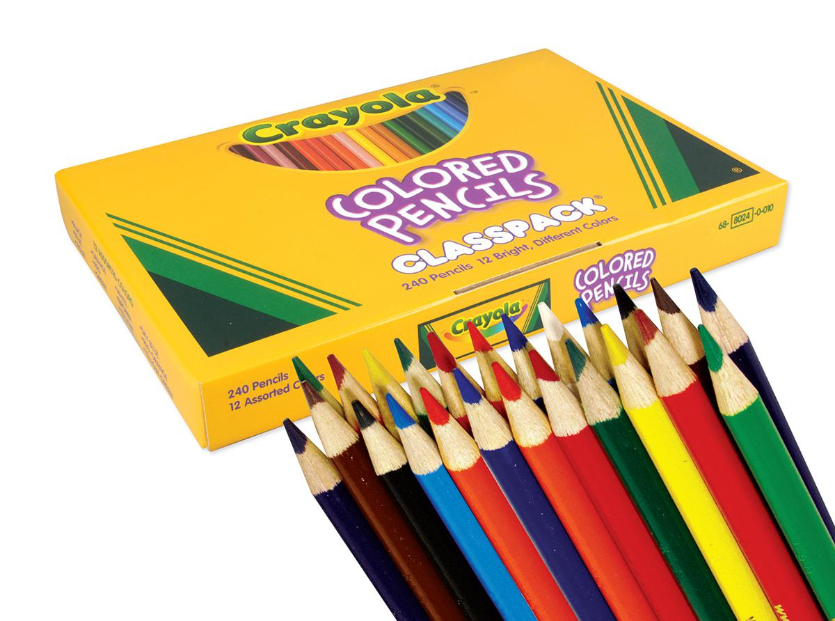 Crayola ® Colored Pencil Classpack (240)