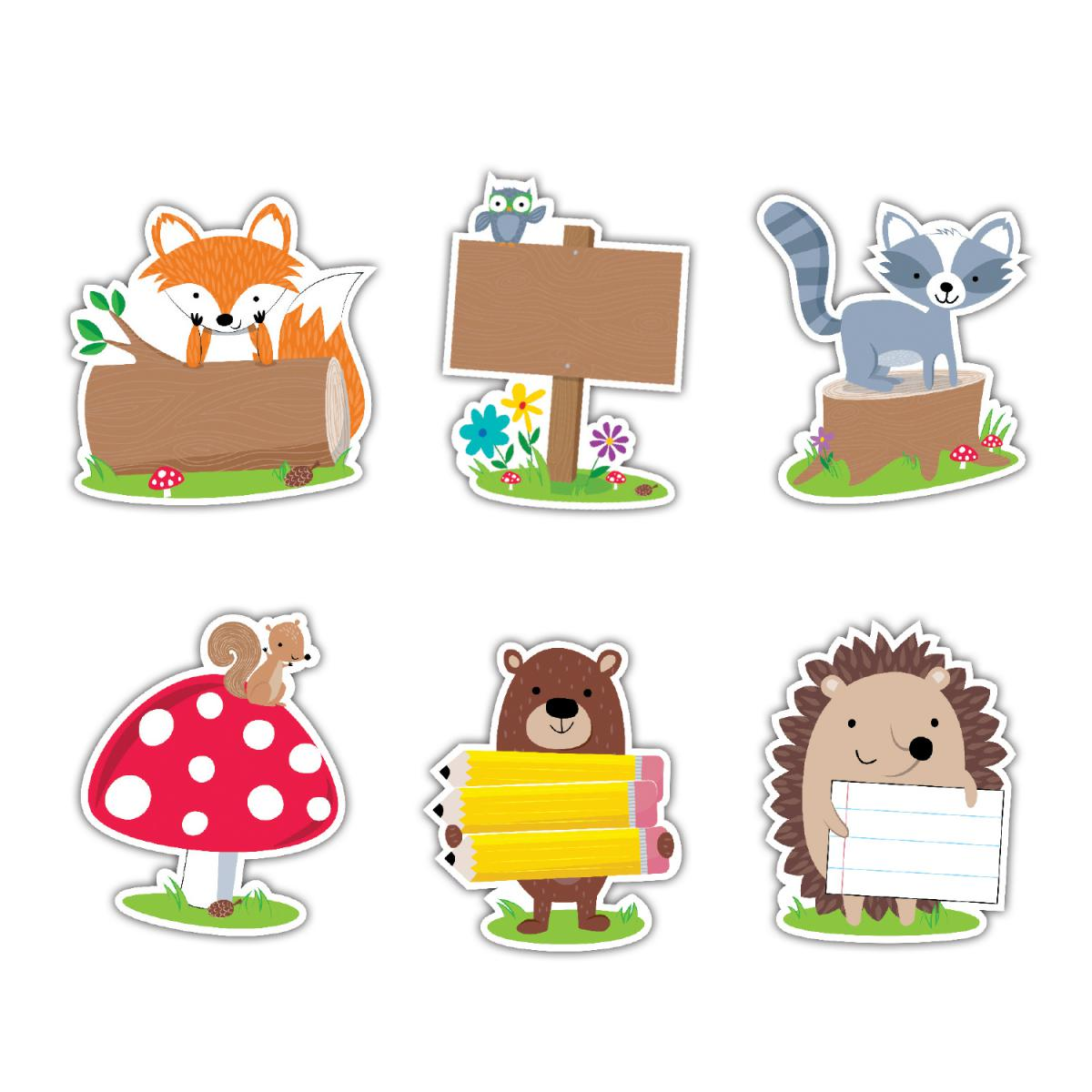 Woodland Friends Cut-Outs