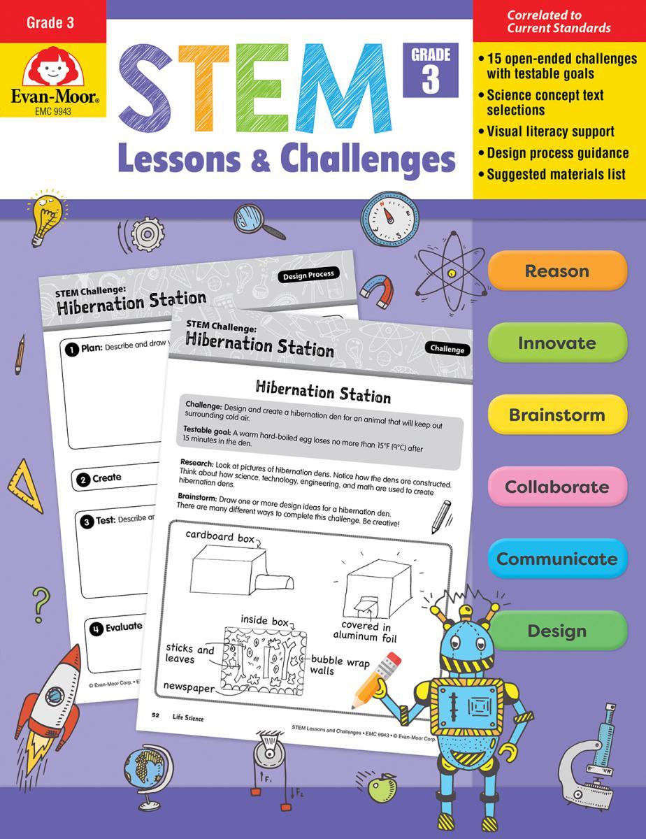 STEM Lessons & Challenges: Gr. 3