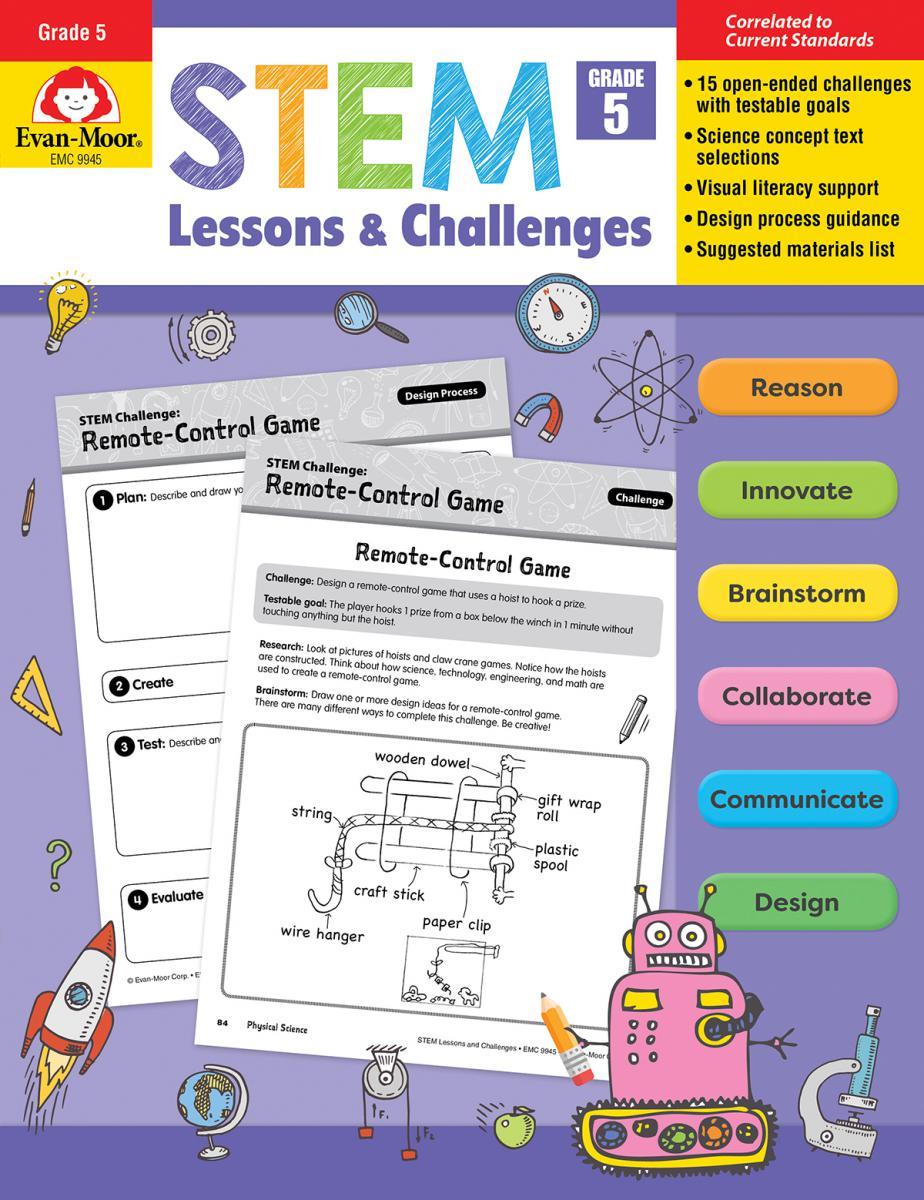 STEM Lessons & Challenges: Gr. 5