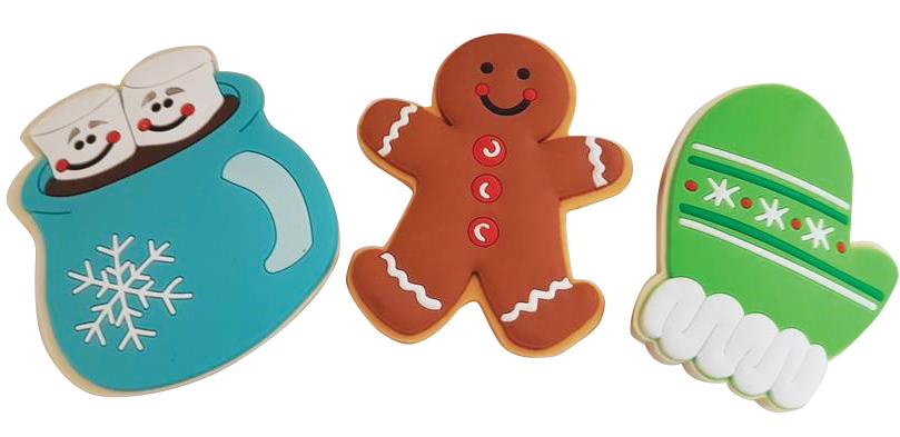 Holiday Cookie Eraser