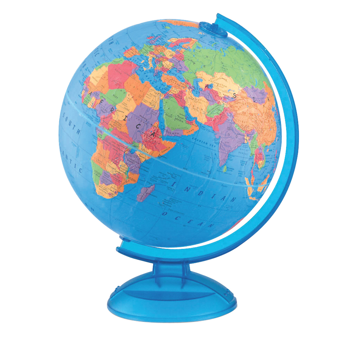 Globe terrestre Base de plastique