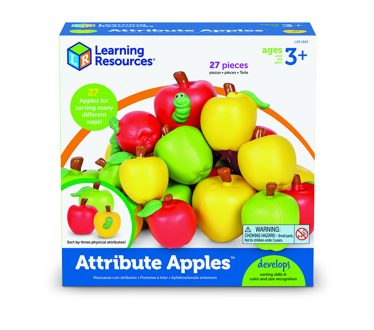 Attribute Apples Set