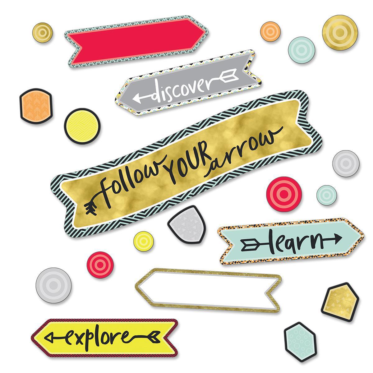 Follow Your Arrow Mini Bulletin Board Set