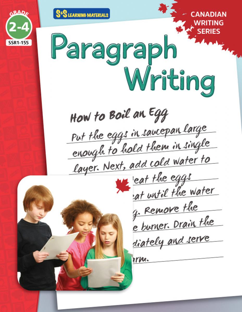 Paragraph Writing Canadian Writing Series Gr. 2-4