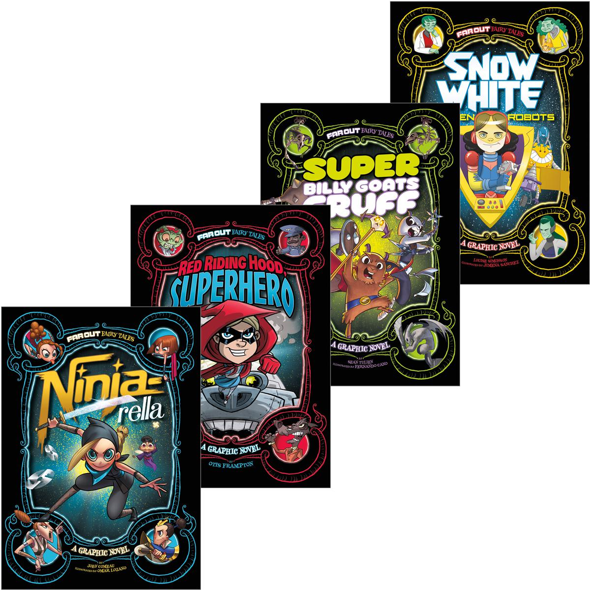 Capstone Far Out Fairy Tales Graphic Novel Pack