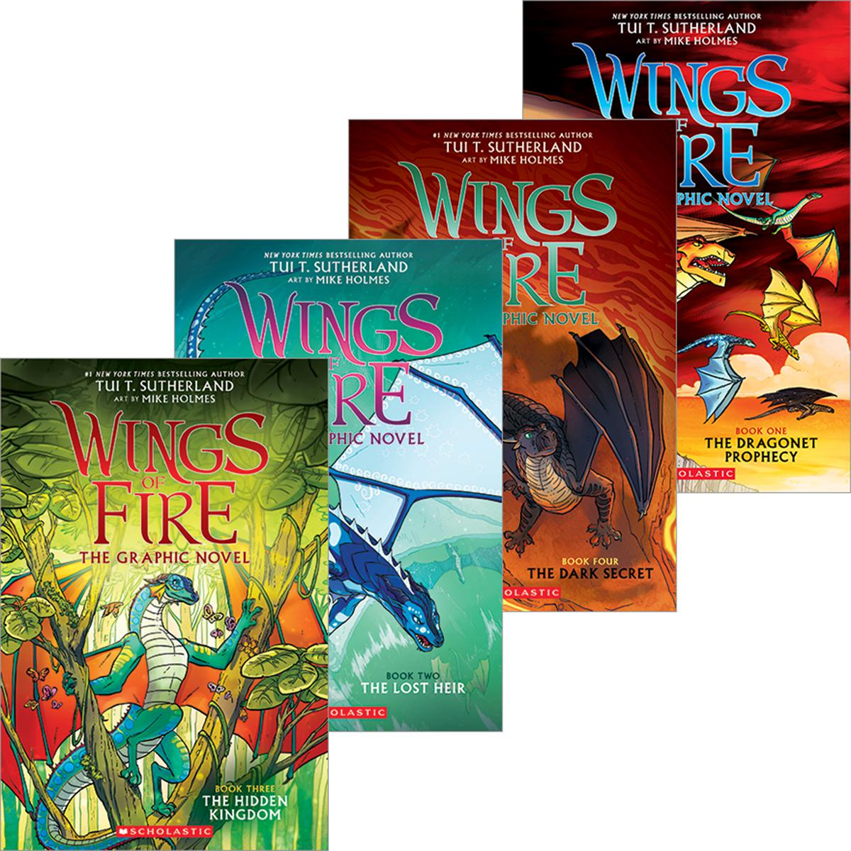 Wings of Fire #1-#4 Graphix Pack