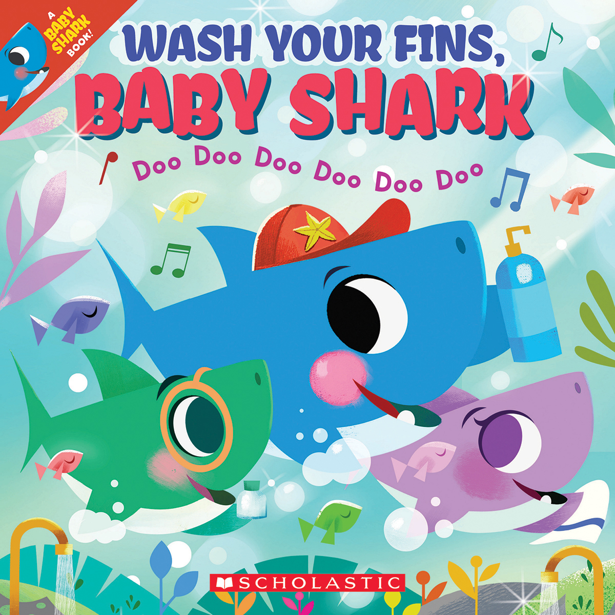 Wash Your Fins, Baby Shark