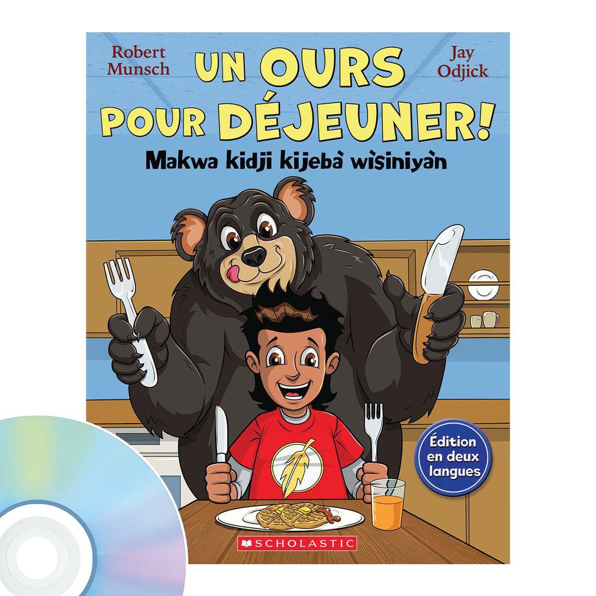 Raconte-moi une histoire : Un ours pour déjeuner! / Makwa kidji kijebà wìsiniyàn