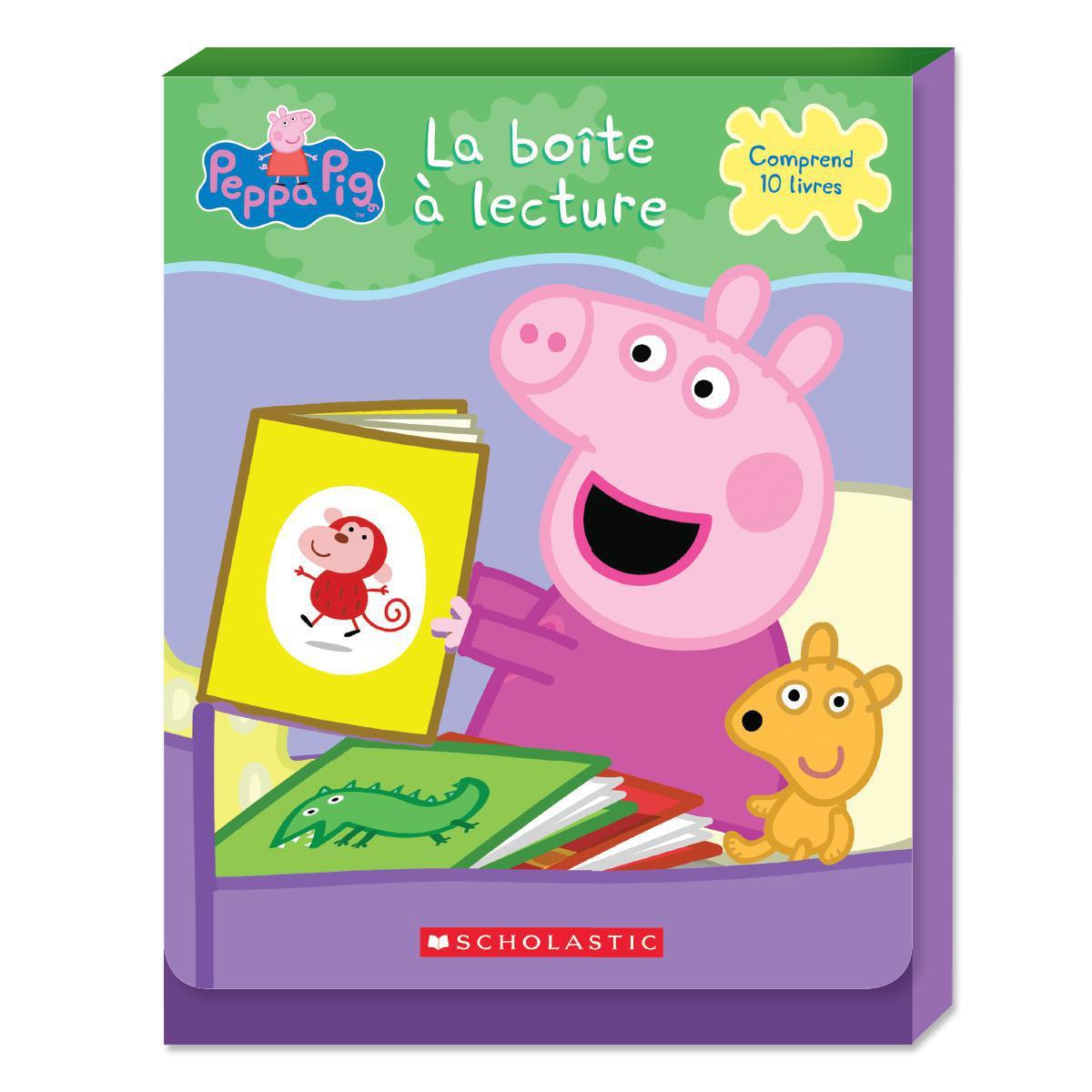 Peppa Pig : La boîte à lecture