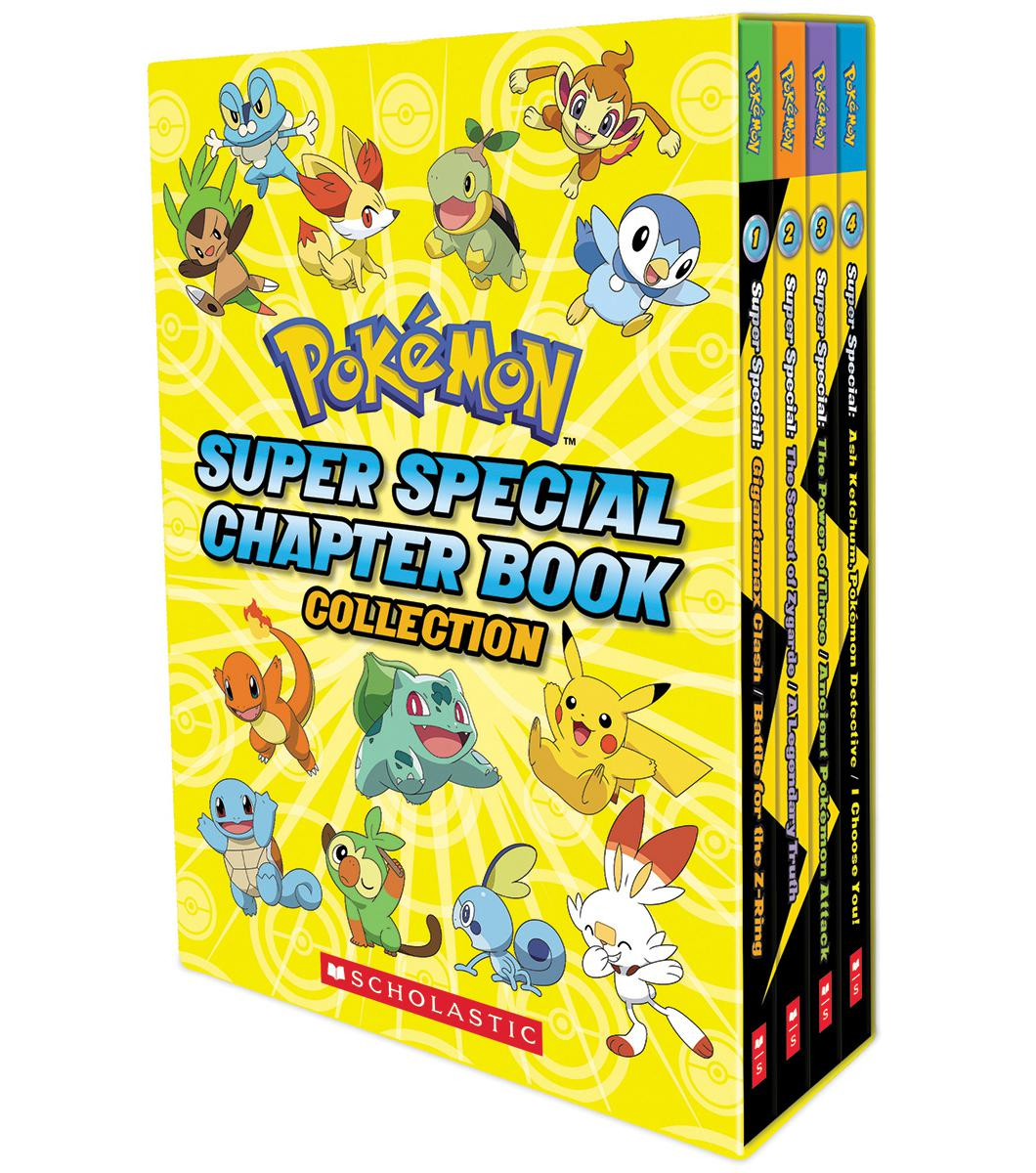 Pokémon: Super Special Chapter Book Collection Boxed Set