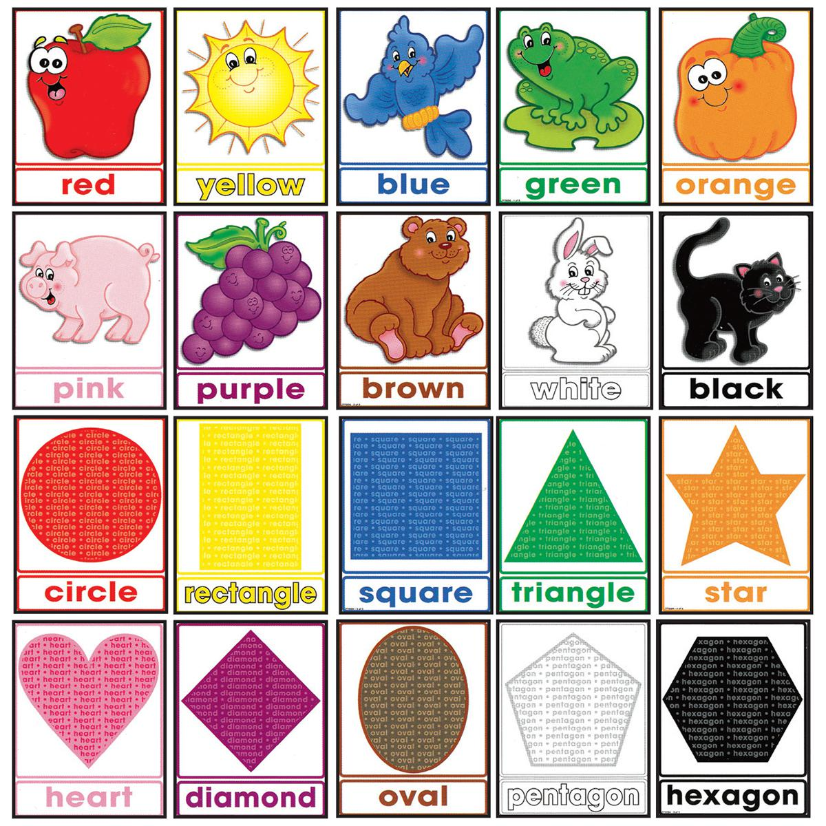 Colours and Shapes Bulletin Board Set