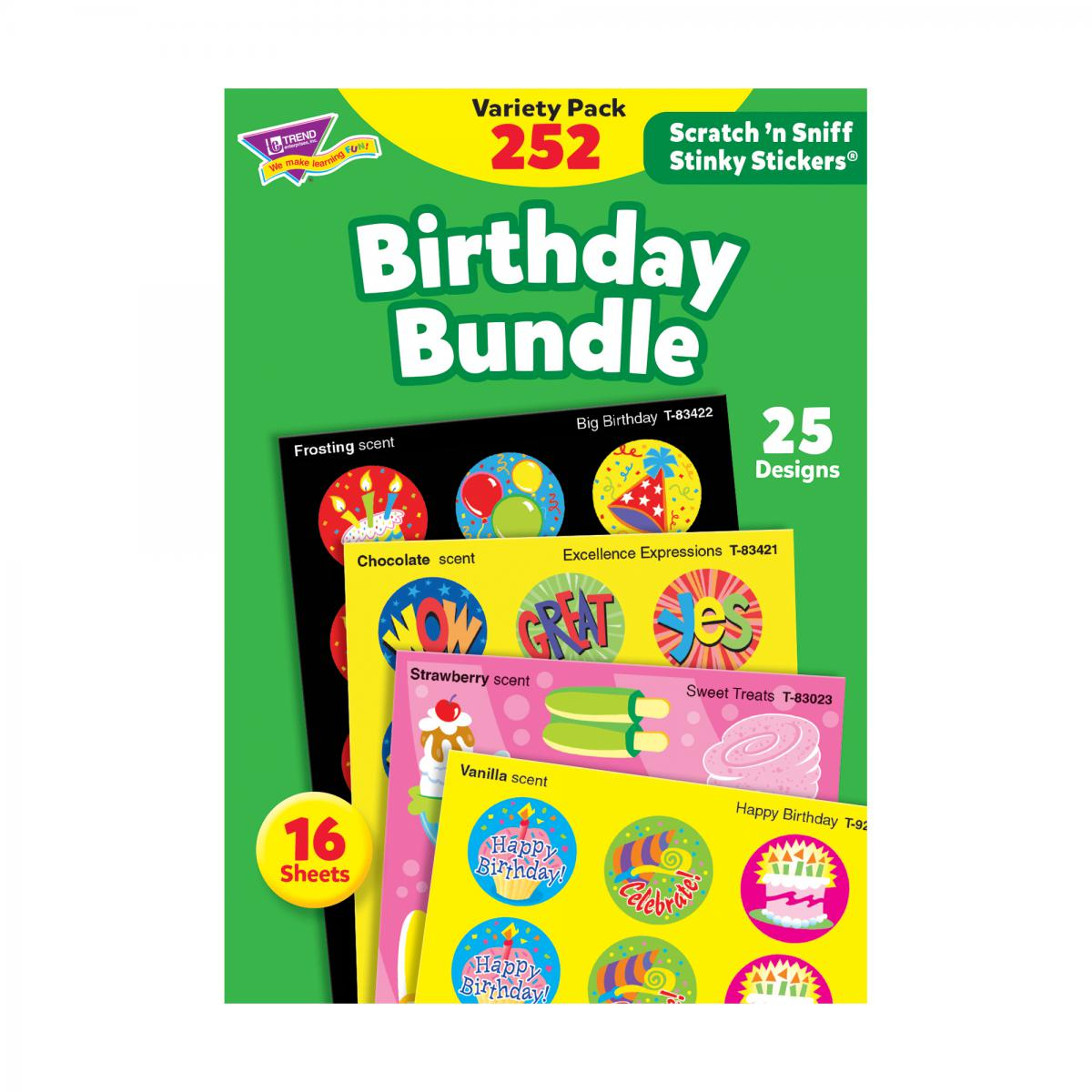 Birthday Bundle Scratch 'n Sniff Stinky Stickers®