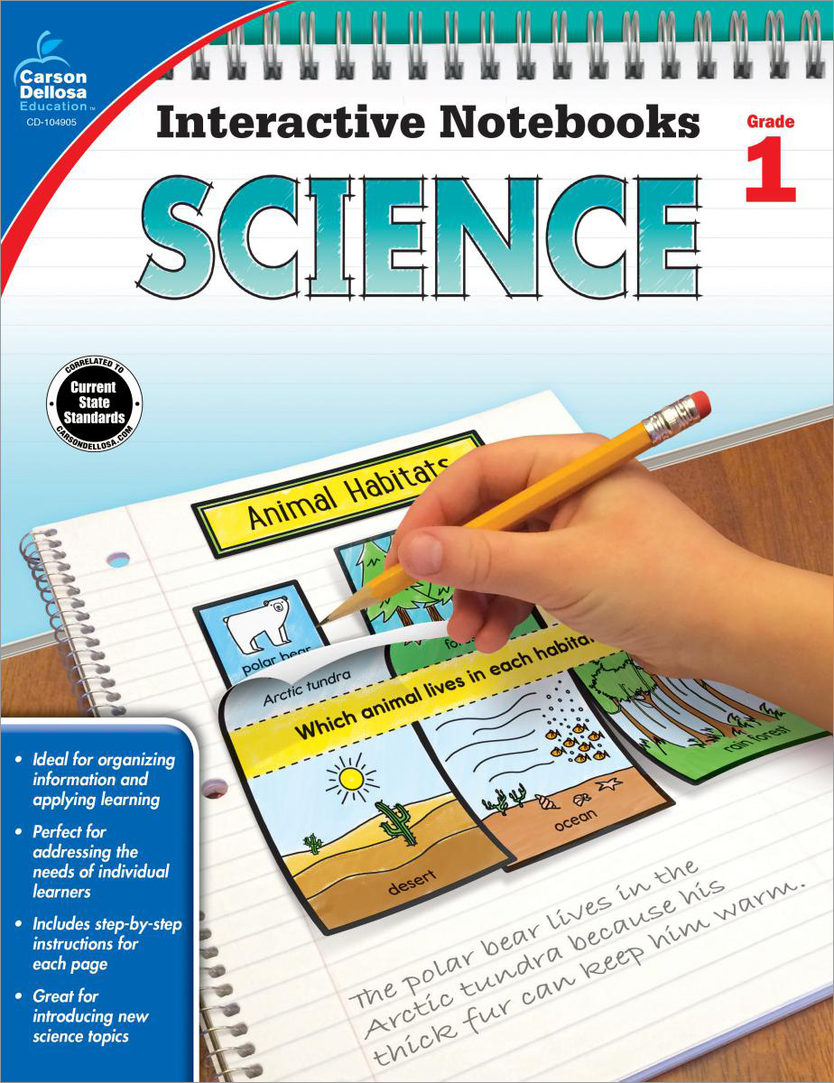 Interactive Notebooks: Science Grade 1