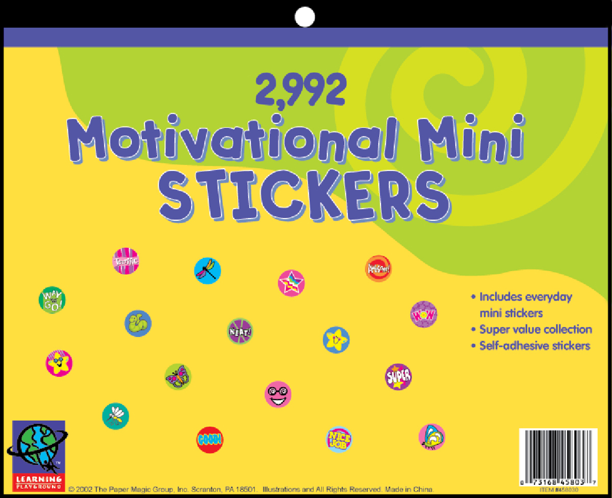 Motivational Mini Jumbo Sticker Book
