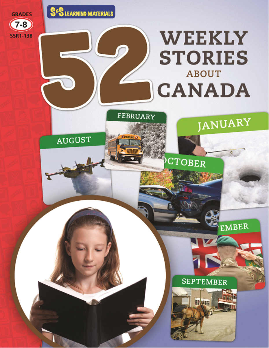 52 Weekly Stories About Canada: Gr. 7-8